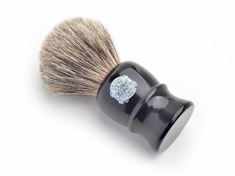 Vulfix pure badger scheerkwast zwart
