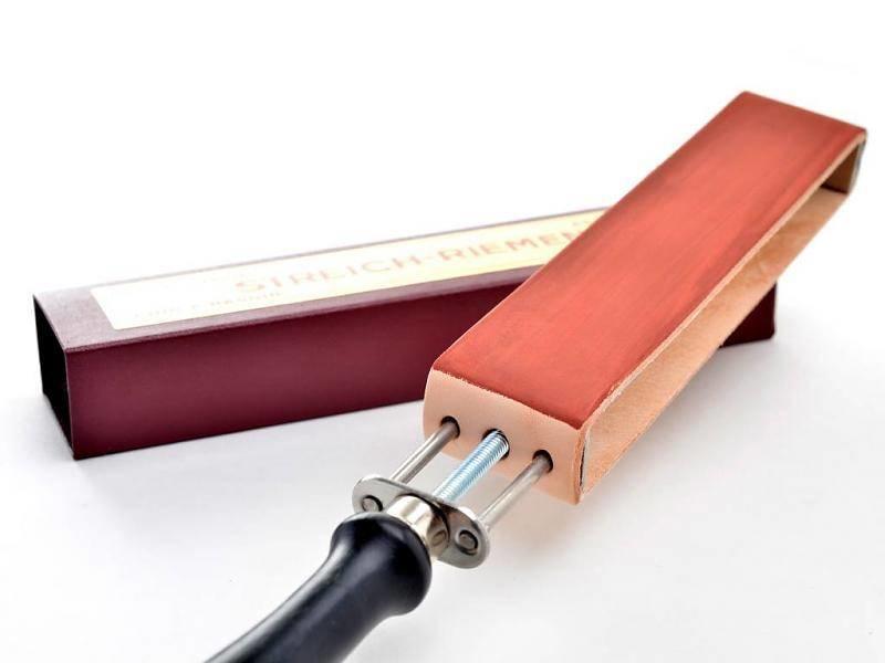 Compleet beginnerspakket open scheermes - mat roestvrij staal 5/8