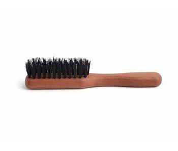 Baardborstel met handvat en synthetische en wild zwijn haren