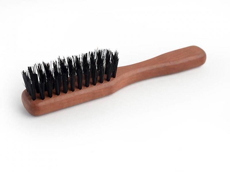 Keller Baardborstel met handvat en synthetische en wild zwijn haren