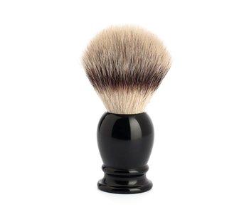 Muhle silvertip fibrescheerkwast L zwart - 23 mm