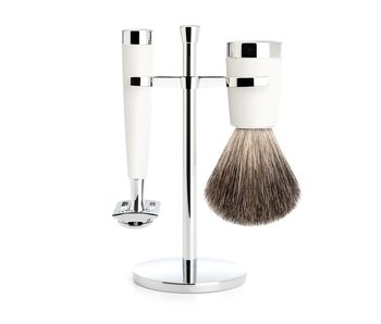 Muhle LISCIO serie wit - safety razor