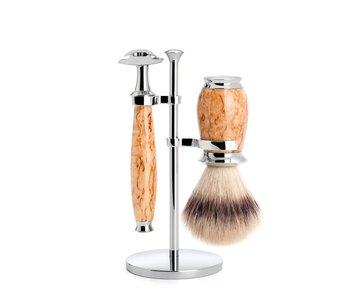 Muhle Purist serie berk - silvertip fibre - safety razor