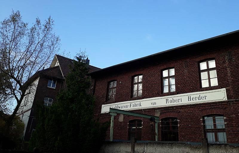 Bezoek en slijpcursus in Solingen