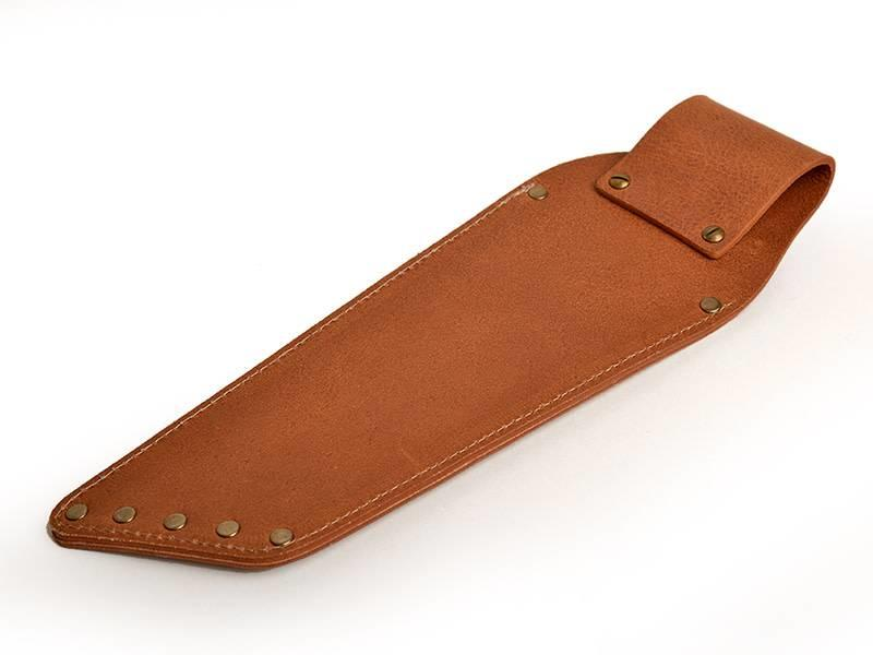 Crafted lederen holster voor 2 messen