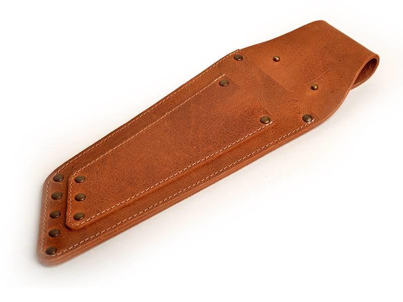 Crafted lederen holster voor 2 messen