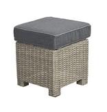 Birdwood footstool 40x40cm  - vlechtwerk
