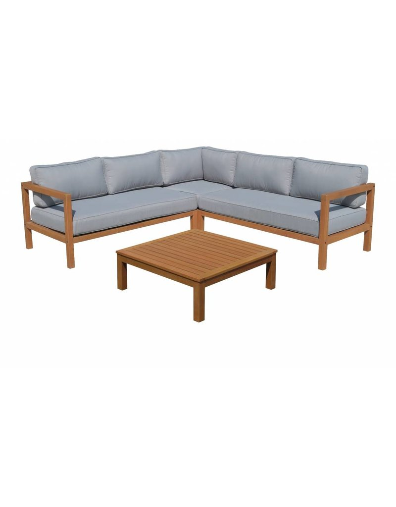 Lincoln 4-delige loungeset