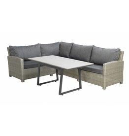 Birdwood 3-delige lounge-diningset