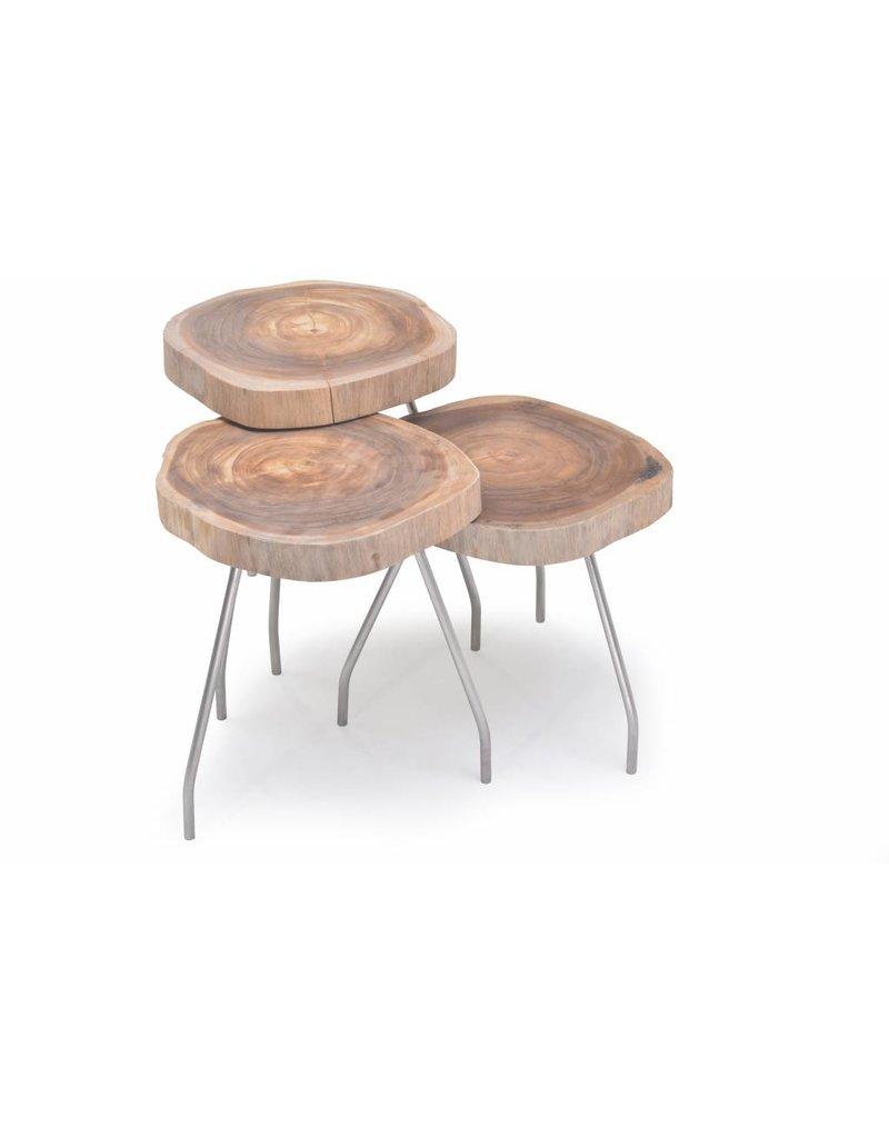 Nika set loungetafels (35x45
