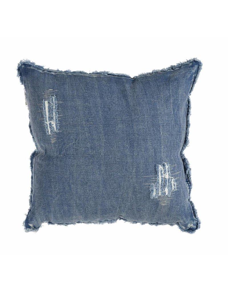 Jeans kussen damaged 40x40