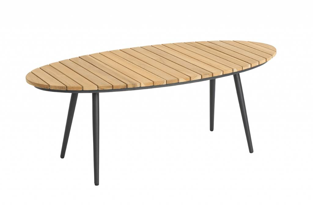 Fontelina loungetafel ovaal 120x60cm