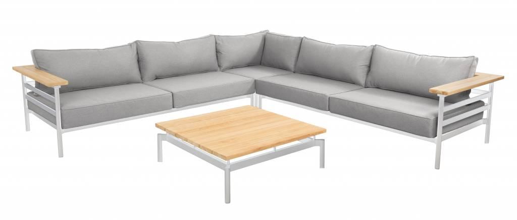 Mulini 4-delige loungeset 298x298cm