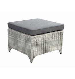 Adelaide footstool 60x60cm