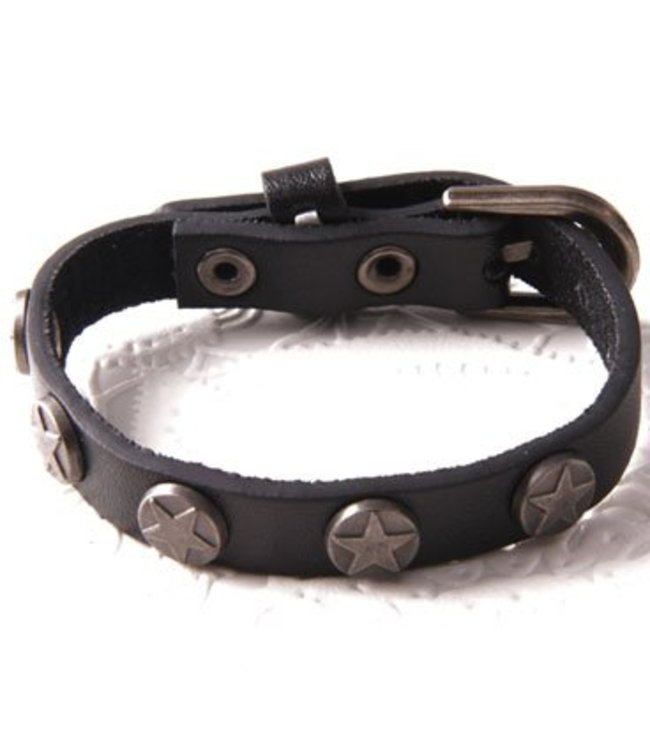 For-You-Only custom made Armband Leather Star