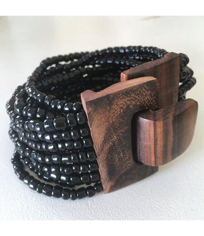 For-You-Only custom made Elastische kralenarmband diverse kleuren