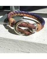 FYO byKarin Men's Bracelet Bruin-Blauw