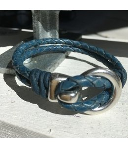 For-You-Only custom made Men's Bracelet Vintage Blue