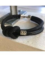 FYO byKarin Men's Bracelet Zwart knoop
