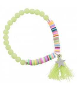 for-YOU-only Elastische Armband Geel