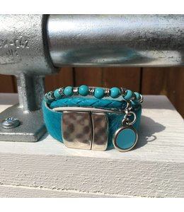 For-You-Only custom made Turquoise setje