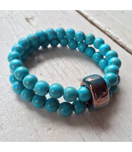 for-YOU-only Turquoise  duoset