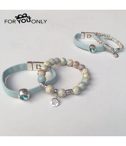 For-You-Only custom made Mom & Me armband set 4