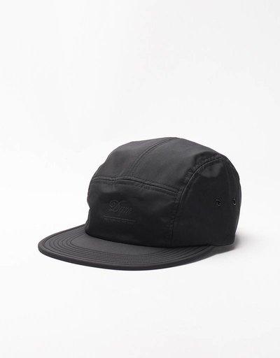 DQM Camp Crushable Nylon Ultrex Cap Black