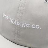 Pop Trading Co Script Flexfoam Cap Grey
