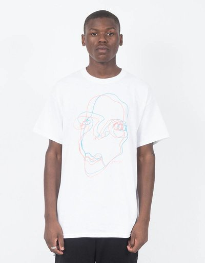 Quasi Face T-shirt White
