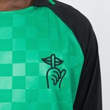 The Quiet Life Goalie Longsleeve T-shirt Green/Black