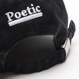 Poeticcollective Cap Black/White