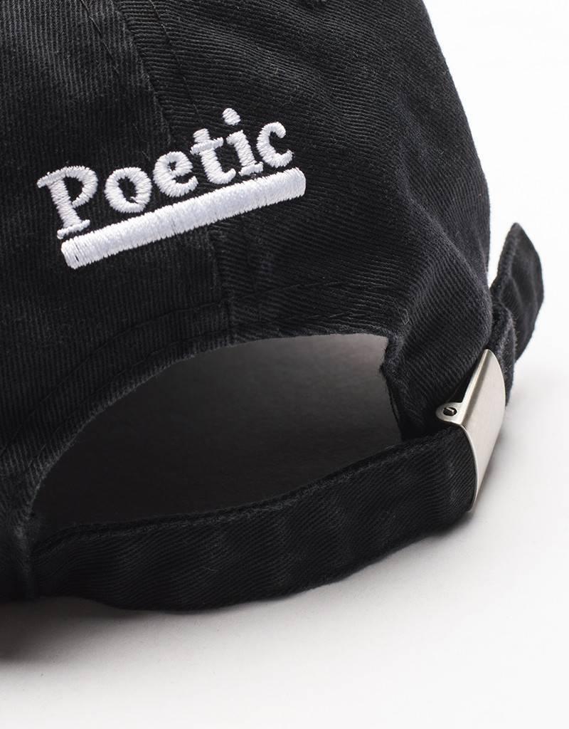 Poetic Collective Cap Black/White
