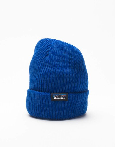 Theories Of Atlantis Peaks Beanie Royal Blue