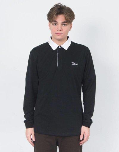 Dime Longsleeve Shirt Rugby Black