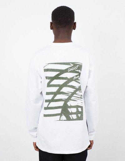 Civilist Dschungel Longsleeve White/Army