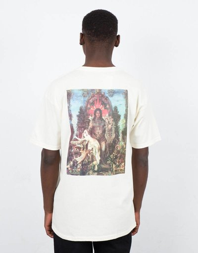 Fucking Awesome Throne T-Shirt Cream