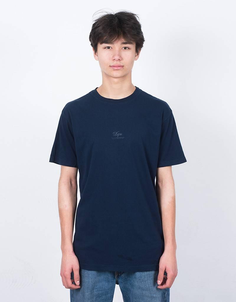 DQM T-Shirt Tiny Logo Navy