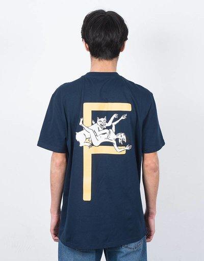 Futur X Minuit Wolf T-Shirt Midnight Blue