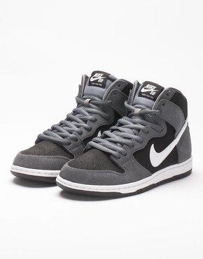 Nike SB Nike Dunk High Dark Grey/white/Black