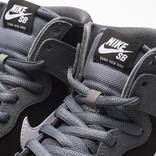 Nike Dunk High Dark Grey/white/Black
