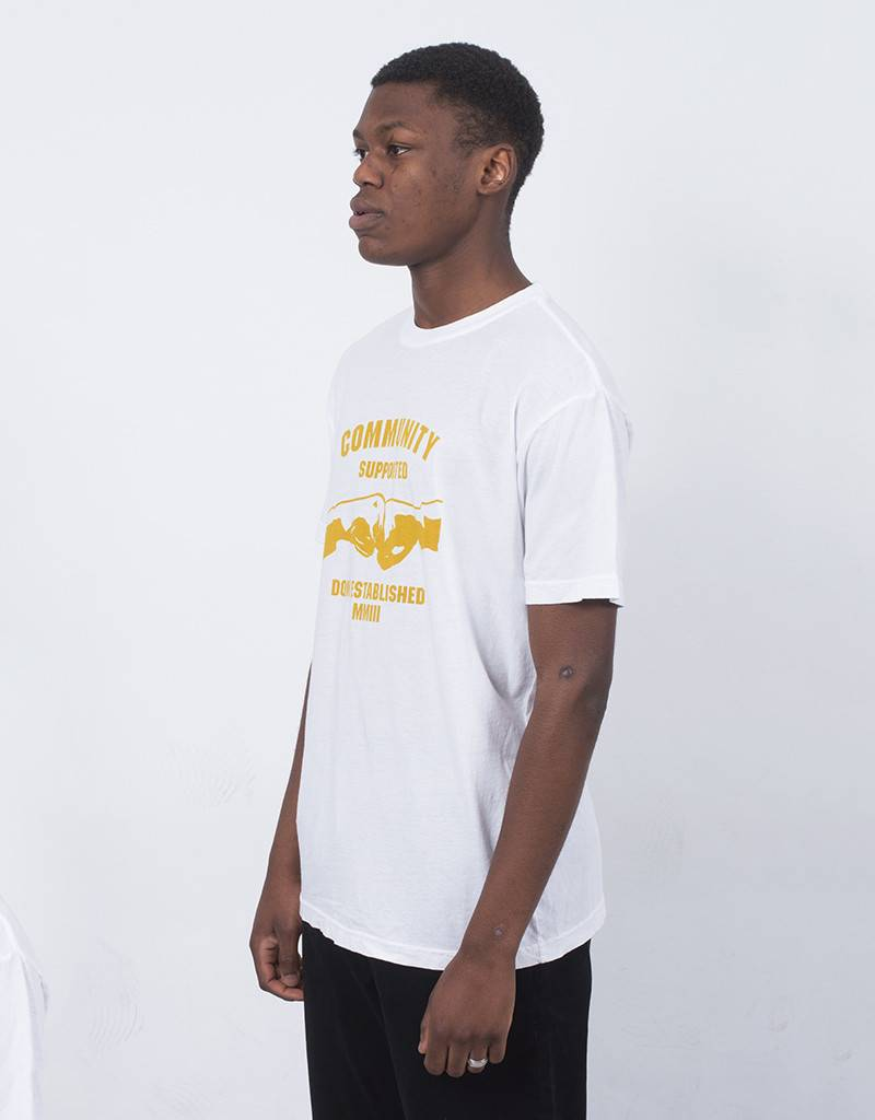 DQM Community Supported T-Shirt White