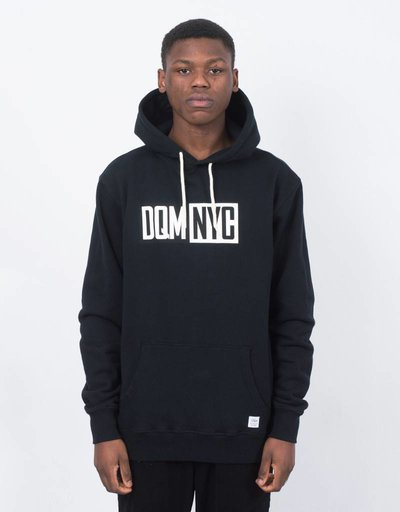 DQM NYC Pullover Hoodie Black