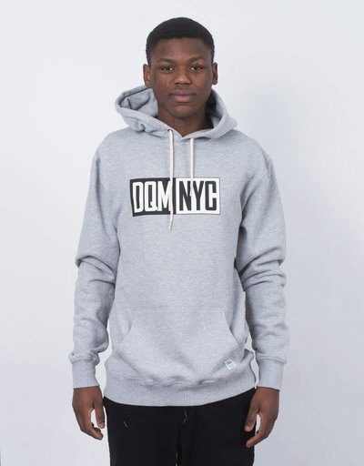 DQM NYC Pullover Hoodie Heather Grey