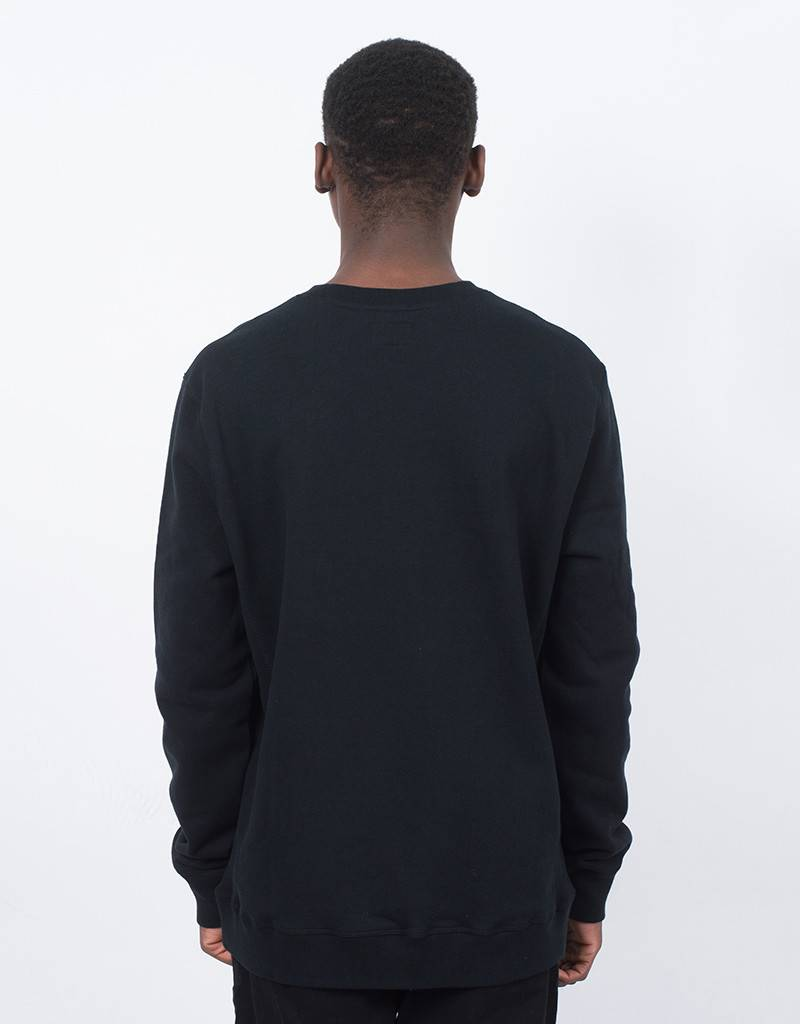 DQM Rose Crewneck Black