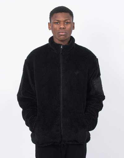 Polar Halberg berber fleece Jacket black