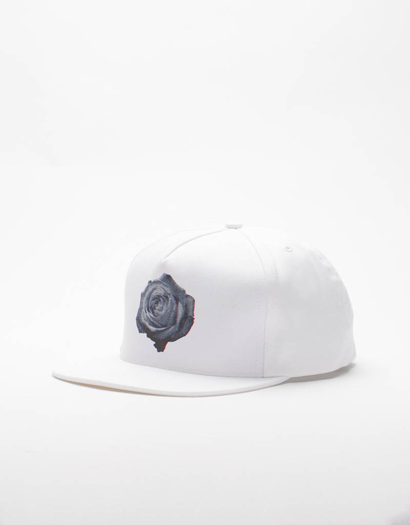DQM Rose Fivepanel Cap White