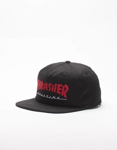 Thrasher Magazine Logo Two-Tone Cap Black/Red