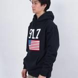 Call Me 917 USA Hoodie Navy