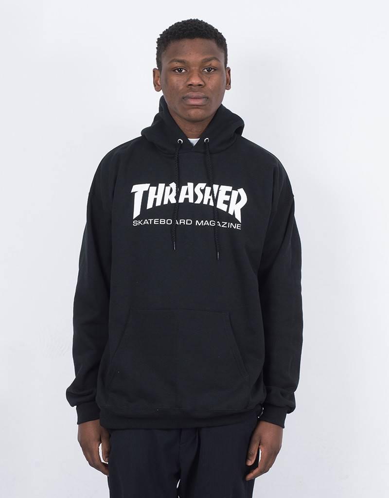 Thrasher Skate Mag Hoodie Black